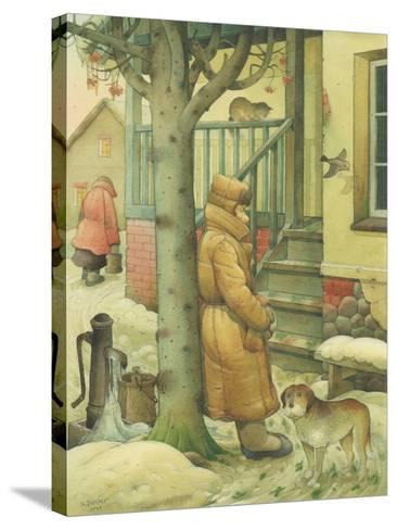 Russian Scene 03, 1994-Kestutis Kasparavicius-Stretched Canvas Print