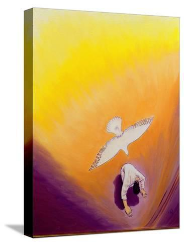 The Same Spirit Who Comforted Christ in Gethsemane Can Console Us, 2000-Elizabeth Wang-Stretched Canvas Print