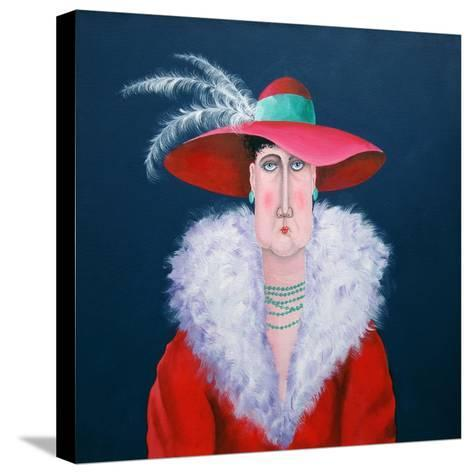 Lady Dowage-John Wright-Stretched Canvas Print