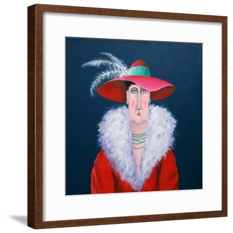 Lady Dowage-John Wright-Framed Art Print