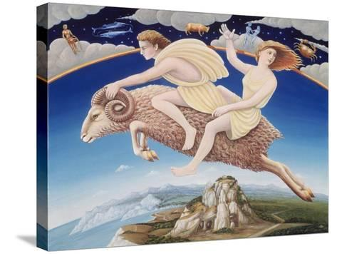 Aries, 1988-Frances Broomfield-Stretched Canvas Print