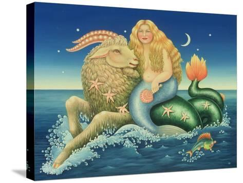 Capricorn, 1992-Frances Broomfield-Stretched Canvas Print