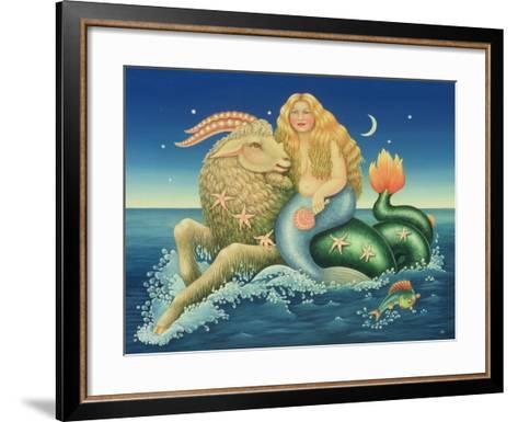 Capricorn, 1992-Frances Broomfield-Framed Art Print