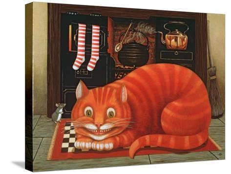 The Cheshire Cat, 1993-Frances Broomfield-Stretched Canvas Print