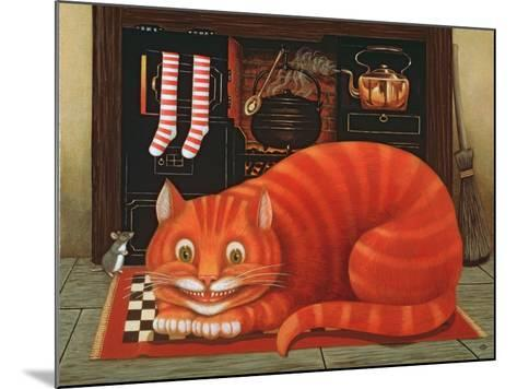 The Cheshire Cat, 1993-Frances Broomfield-Mounted Giclee Print