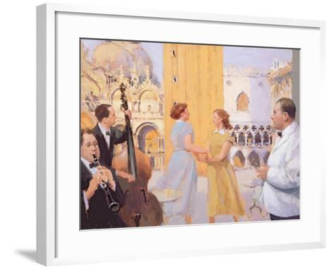 Piazza San Marco, 2003-04-Alan Kingsbury-Framed Art Print