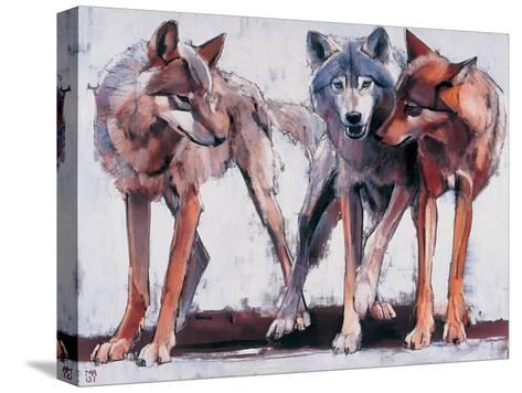 Pack Leaders, 2001-Mark Adlington-Stretched Canvas Print