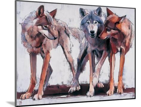 Pack Leaders, 2001-Mark Adlington-Mounted Giclee Print