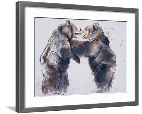 Playfight, 2001-Mark Adlington-Framed Art Print