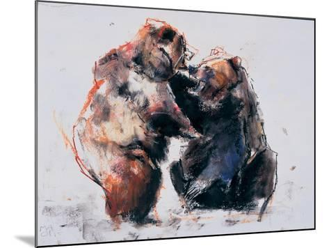 European Brown Bears, 2001-Mark Adlington-Mounted Giclee Print