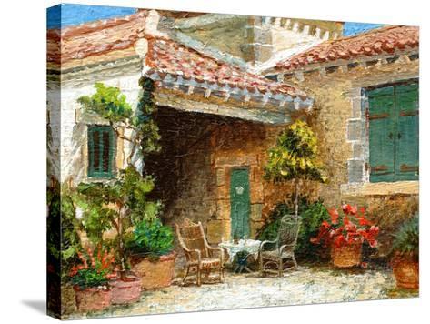 Provence Barn, 2006-Trevor Neal-Stretched Canvas Print