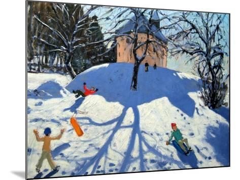 Les Gets-Andrew Macara-Mounted Giclee Print
