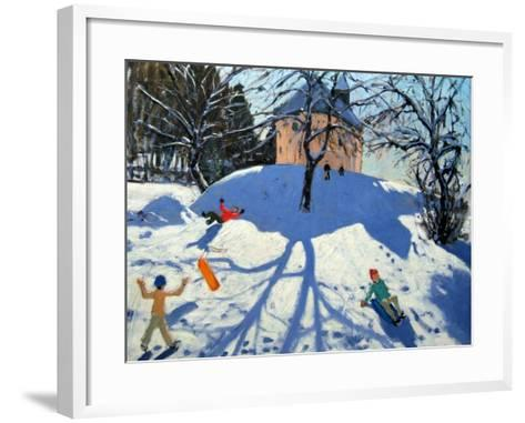 Les Gets-Andrew Macara-Framed Art Print