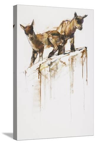 Rock Play, 2005-Mark Adlington-Stretched Canvas Print