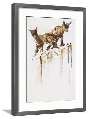 Rock Play, 2005-Mark Adlington-Framed Art Print