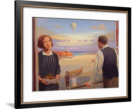 From a Balcony, 2004-05-Alan Kingsbury-Framed Art Print