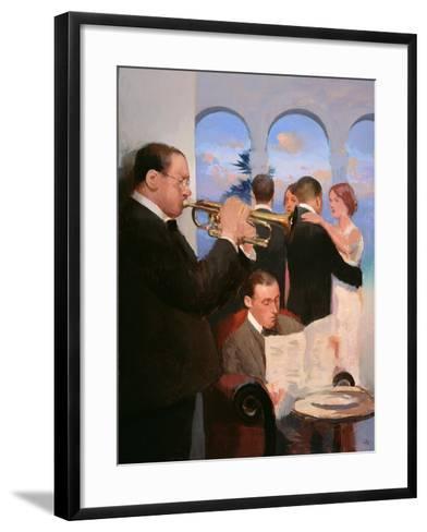 Riviera Life, 2004-05-Alan Kingsbury-Framed Art Print