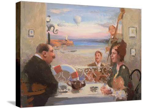 Tea Dancing, 2004-Alan Kingsbury-Stretched Canvas Print