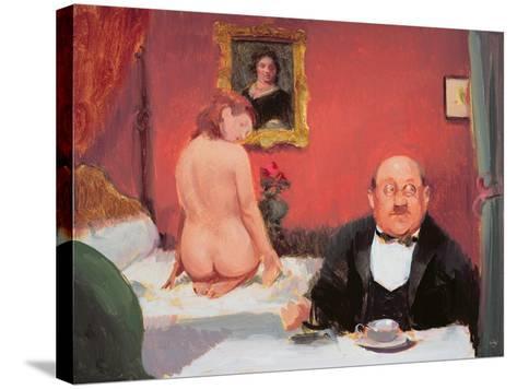 Teatime Interior, 2004-05-Alan Kingsbury-Stretched Canvas Print