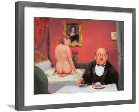 Teatime Interior, 2004-05-Alan Kingsbury-Framed Art Print