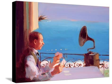 Puccini Blue, 2005-Alan Kingsbury-Stretched Canvas Print