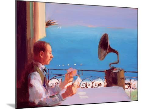 Puccini Blue, 2005-Alan Kingsbury-Mounted Giclee Print