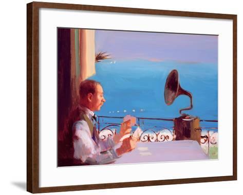 Puccini Blue, 2005-Alan Kingsbury-Framed Art Print