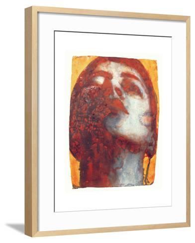 Head, 2000-Graham Dean-Framed Art Print