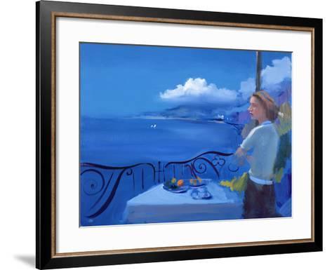 Aegean, 2005-Alan Kingsbury-Framed Art Print