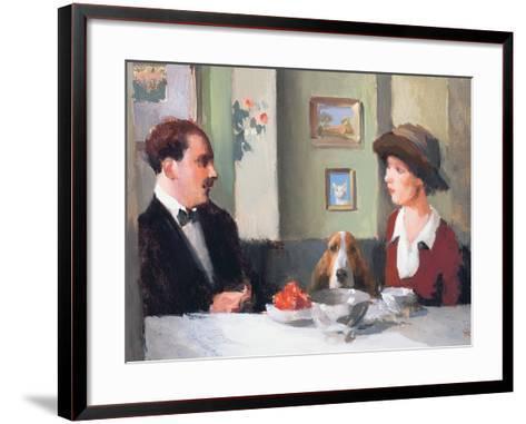 Little Chaperone, 2003-04-Alan Kingsbury-Framed Art Print
