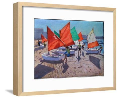 Red Sails, Royan, France-Andrew Macara-Framed Art Print