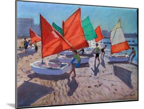 Red Sails, Royan, France-Andrew Macara-Mounted Giclee Print