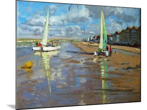 Reflection, Bray Dunes, France-Andrew Macara-Mounted Giclee Print