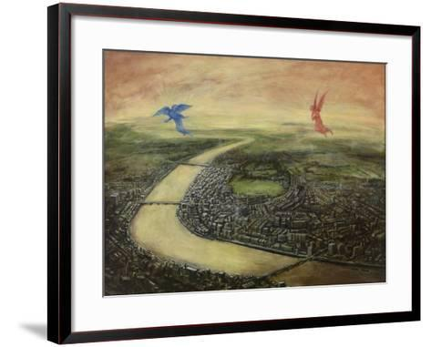 Angels of Day and Night, 2003-Robert Burkall Marsh-Framed Art Print