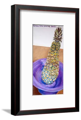 Comme Nous Sommes Seuls!, January 2005-Vanilla Beer-Framed Art Print