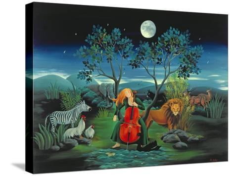 Moonshine Sonata, 2006-Magdolna Ban-Stretched Canvas Print