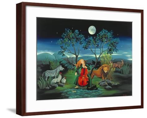 Moonshine Sonata, 2006-Magdolna Ban-Framed Art Print
