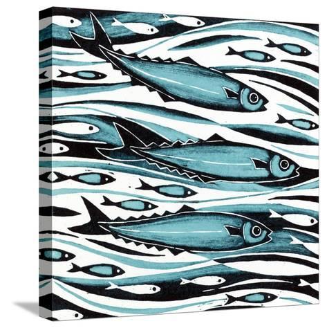 Sprats, 2004-Nat Morley-Stretched Canvas Print