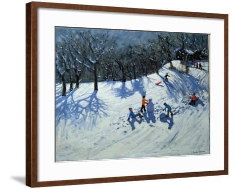 The Snowman-Andrew Macara-Framed Art Print