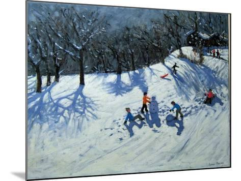 The Snowman-Andrew Macara-Mounted Giclee Print