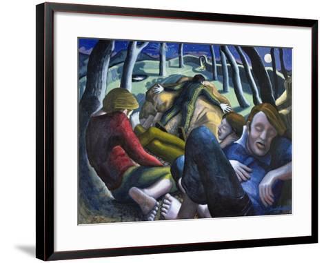 Garden of Gethsemane, 1995-Dinah Roe Kendall-Framed Art Print