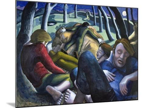 Garden of Gethsemane, 1995-Dinah Roe Kendall-Mounted Giclee Print