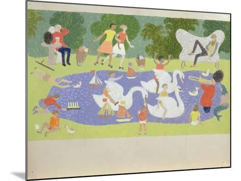 The Fantastic Park, 1961-John Armstrong-Mounted Giclee Print
