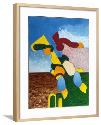 Body and Soul, Nr 2, 2007-Jan Groneberg-Framed Art Print