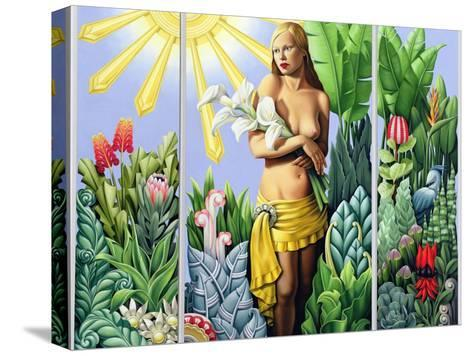 Eden (Triptych) 2006-Catherine Abel-Stretched Canvas Print