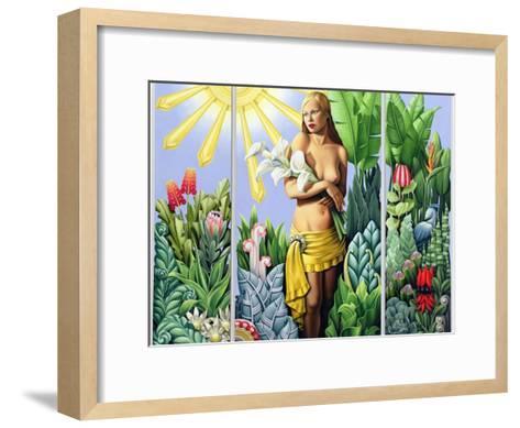 Eden (Triptych) 2006-Catherine Abel-Framed Art Print