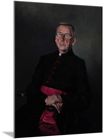Portrait of Monsignor Dazeley, 2008-James Gillick-Mounted Giclee Print