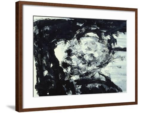 Kitaj with His Hand on His Head, 1995-Stephen Finer-Framed Art Print