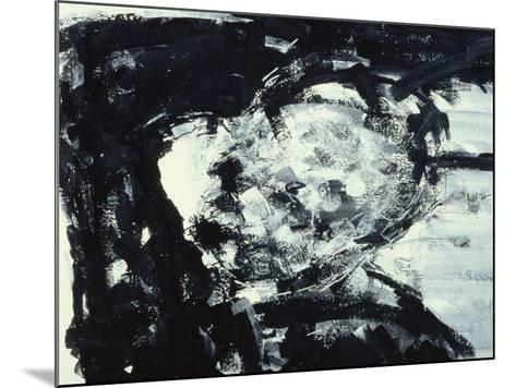 Kitaj with His Hand on His Head, 1995-Stephen Finer-Mounted Giclee Print