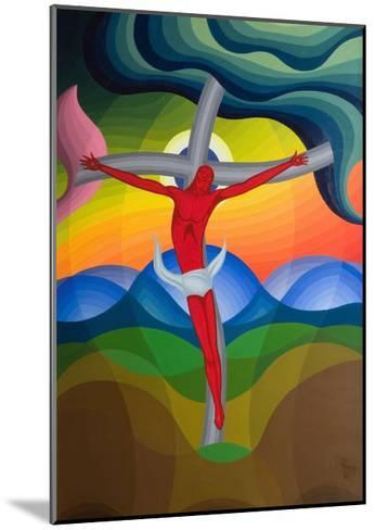 On the Cross, 1992-Emil Parrag-Mounted Giclee Print